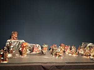 Preparación village Navidad 2014